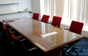 Conference Room Glass Tops